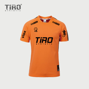 TIRO ETERNAL.17 S/S (ORANGE/BLACK)